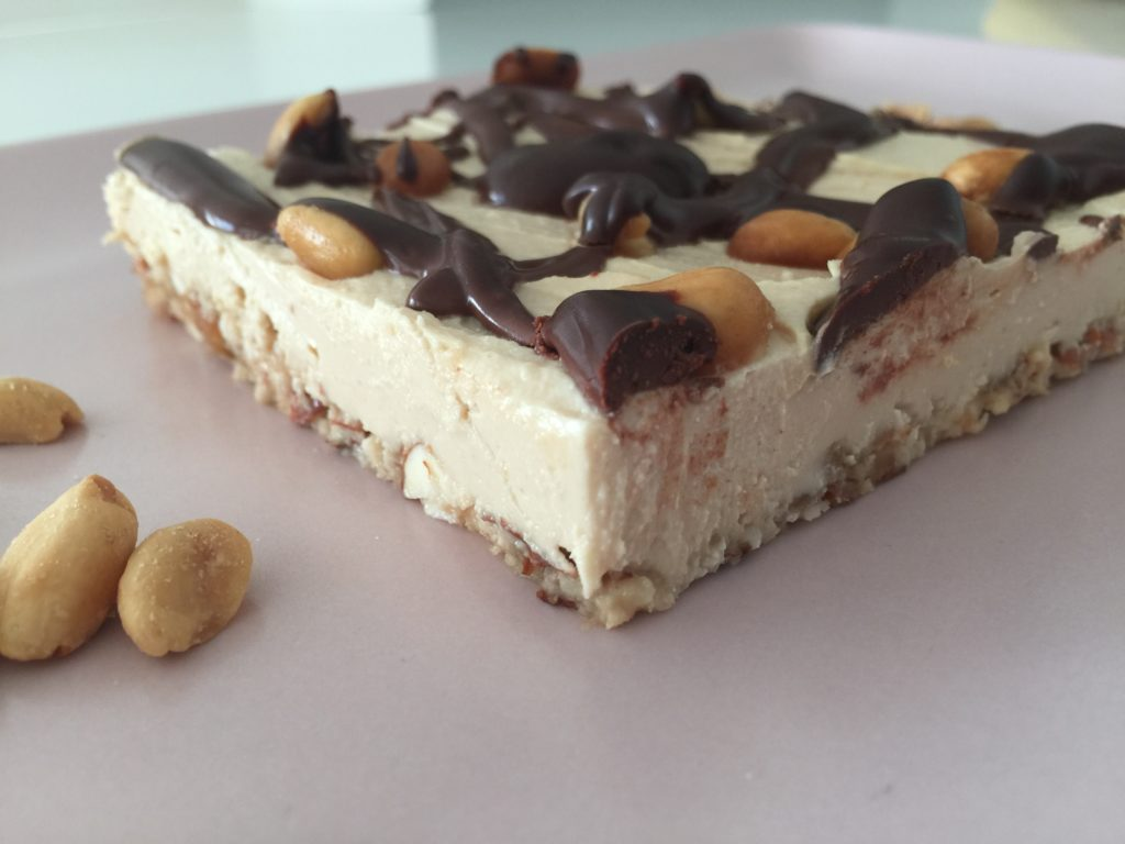 Image of the No bake peanut butter cheesecake