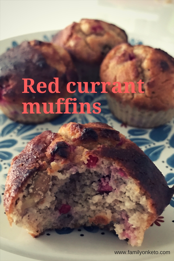Image of red currant muffins