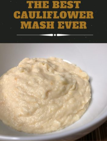 Image of the best cauliflower mash ever.
