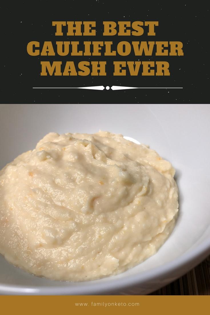 Image of the best cauliflower mash ever.