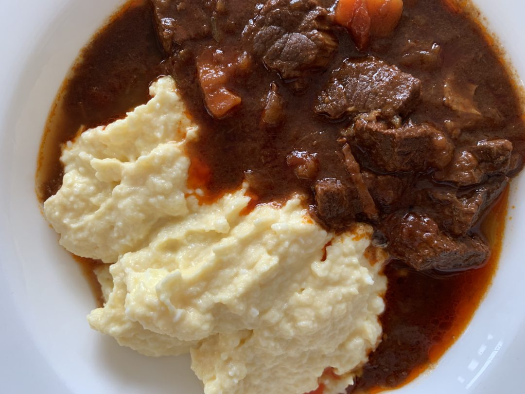 Keto goulash with beef