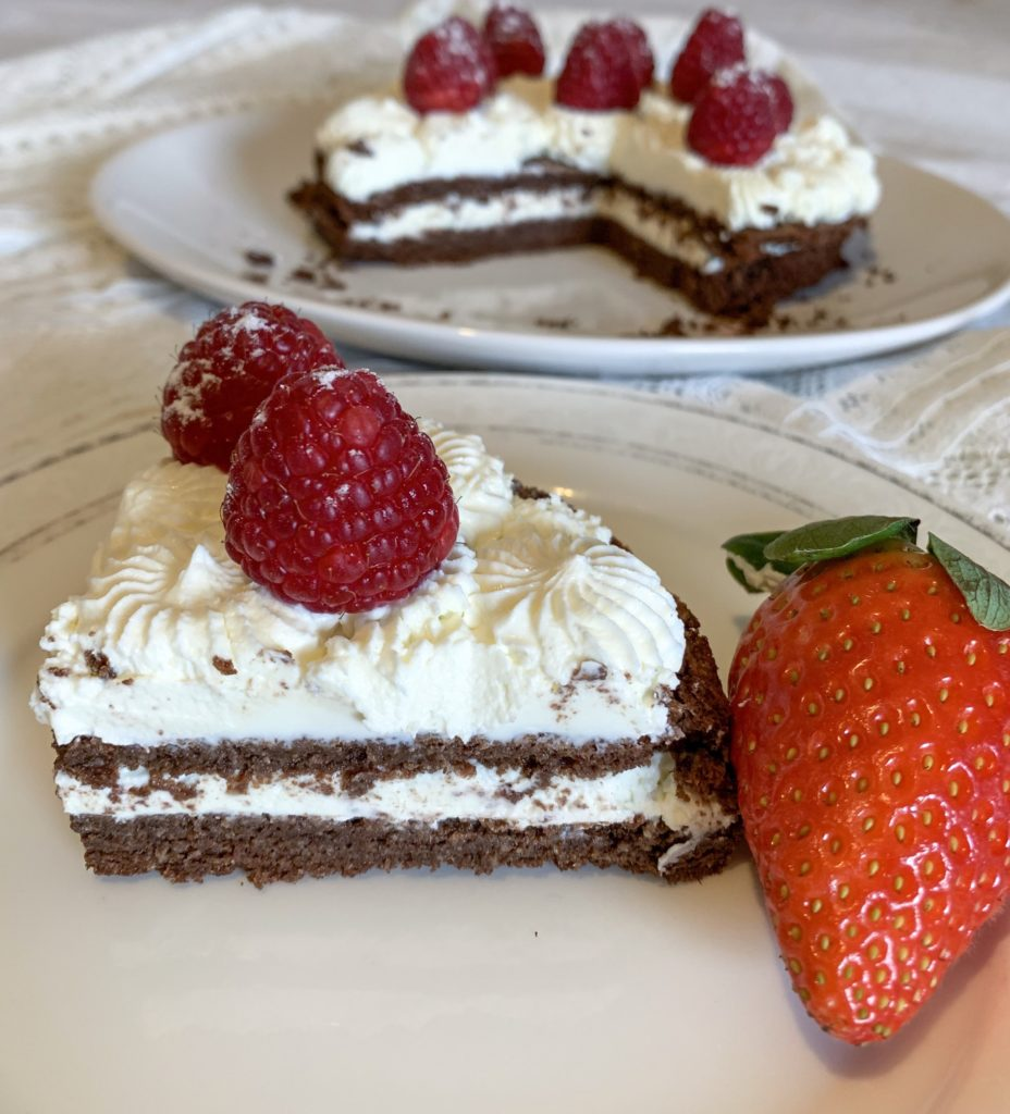 Picture of a little low carb birthday cake