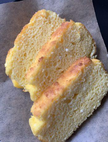Photo of coconut bread slices