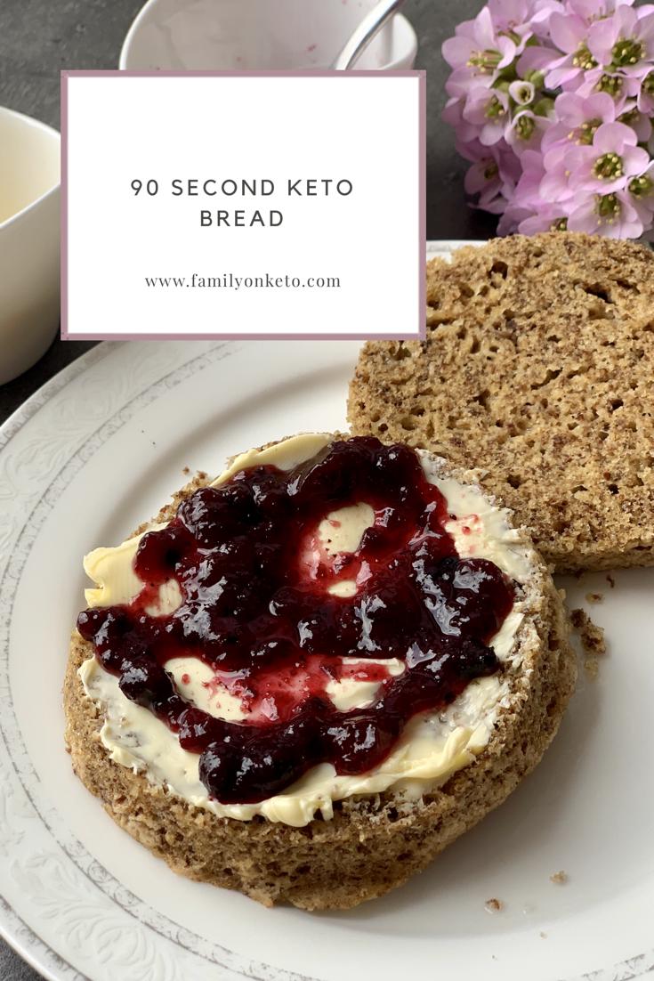 Picture of 90 second keto bread