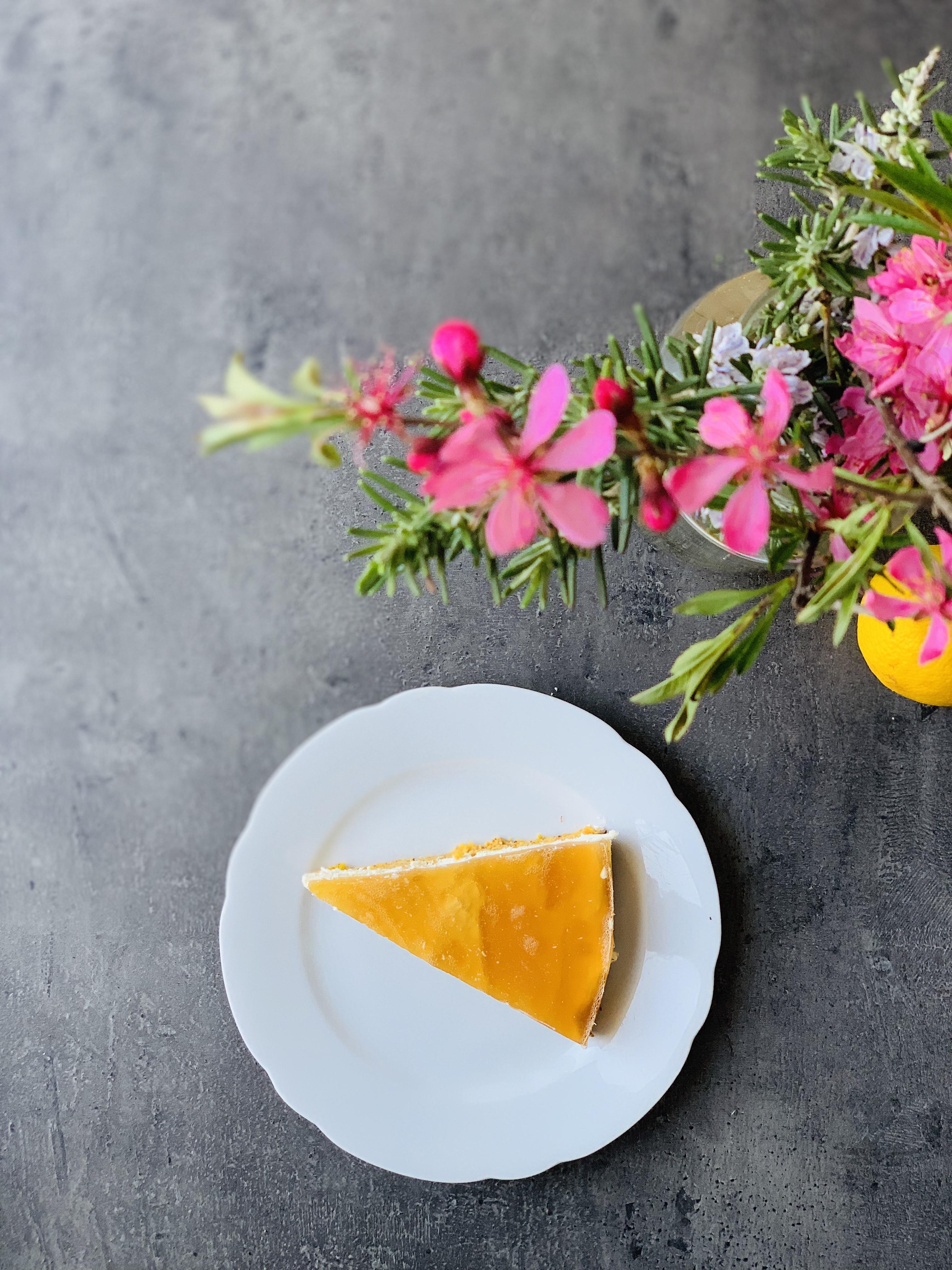 Picture of gluten free keto carrot cake with keto jello