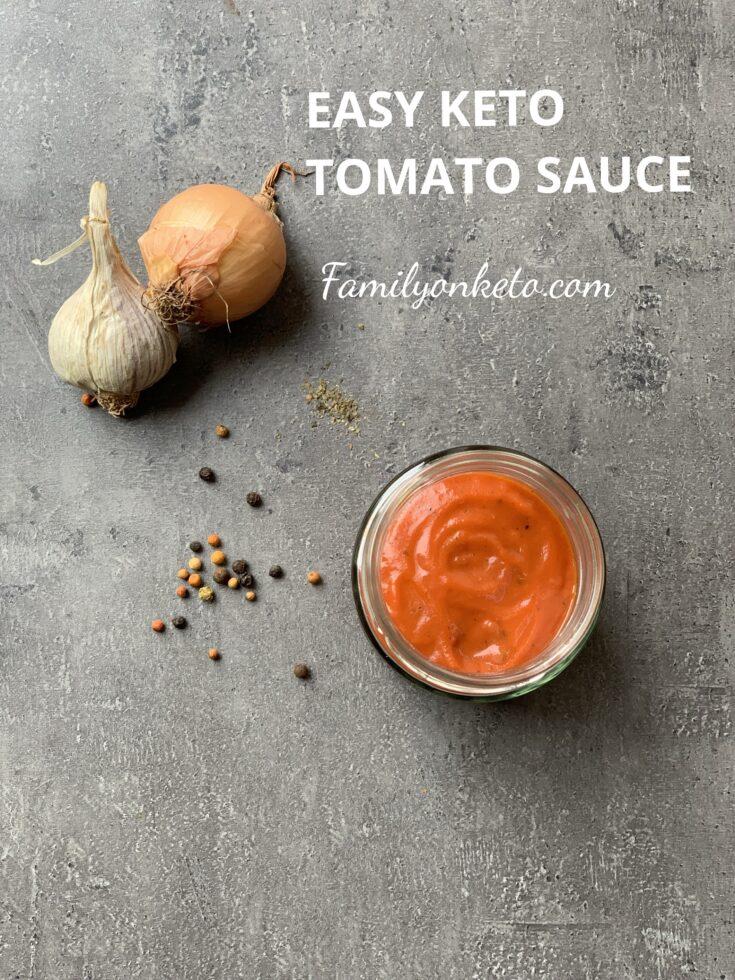 Picture of keto tomato sauce