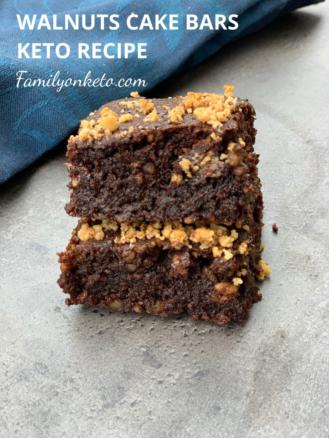 Picture of walnuts chocolate cake