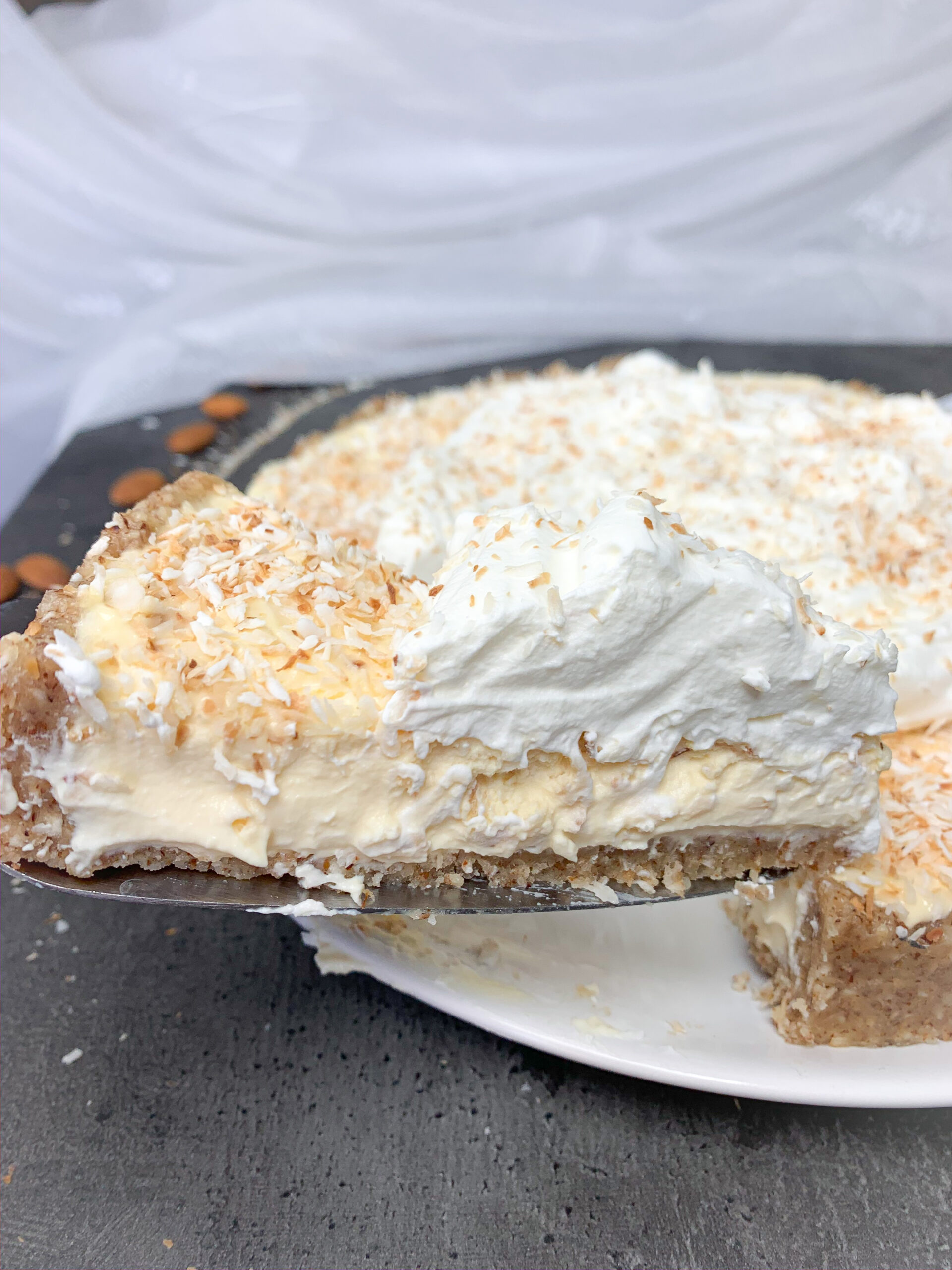 Picture of keto coconut cream pie
