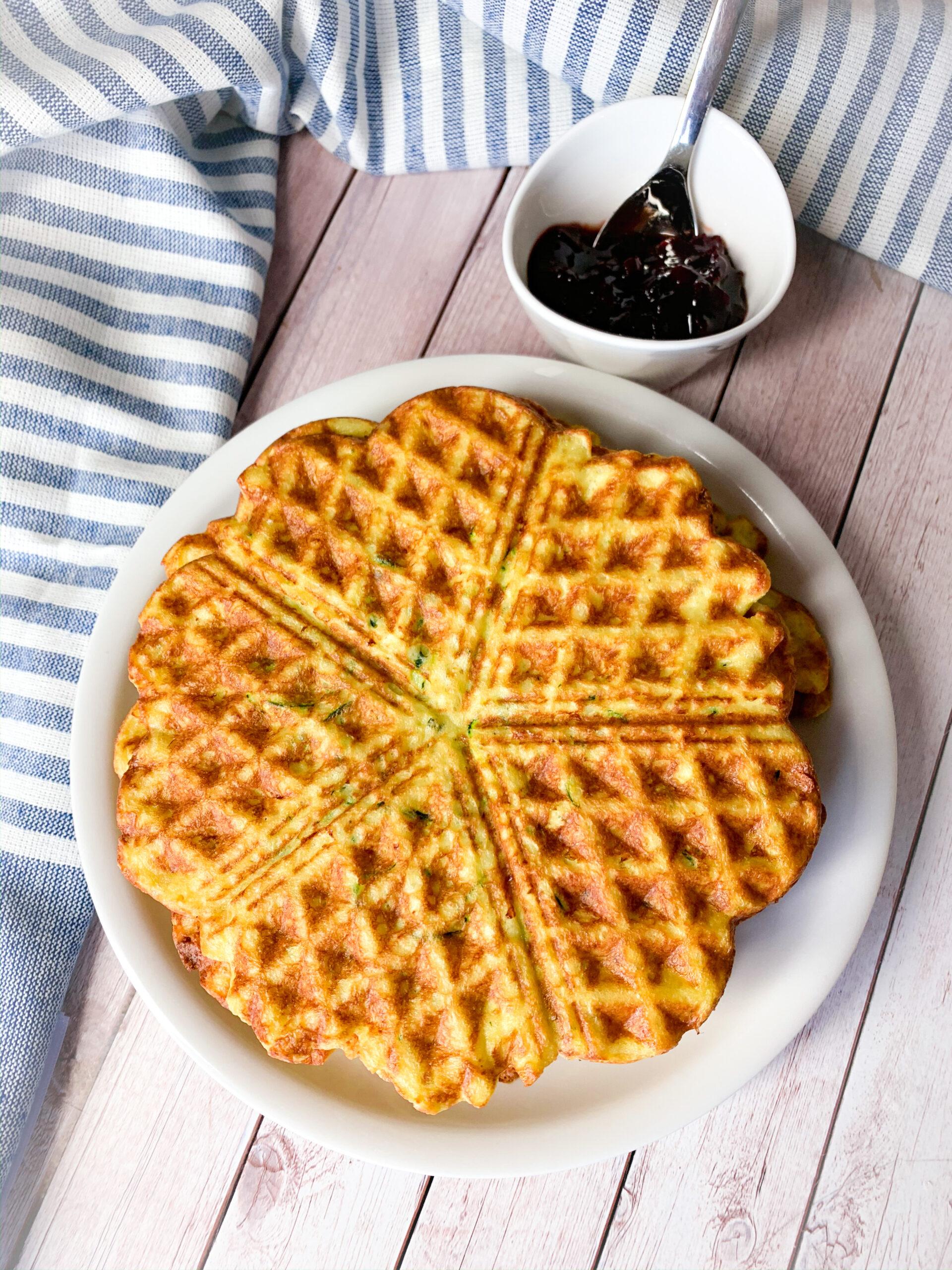 Sugar free sweet waffles