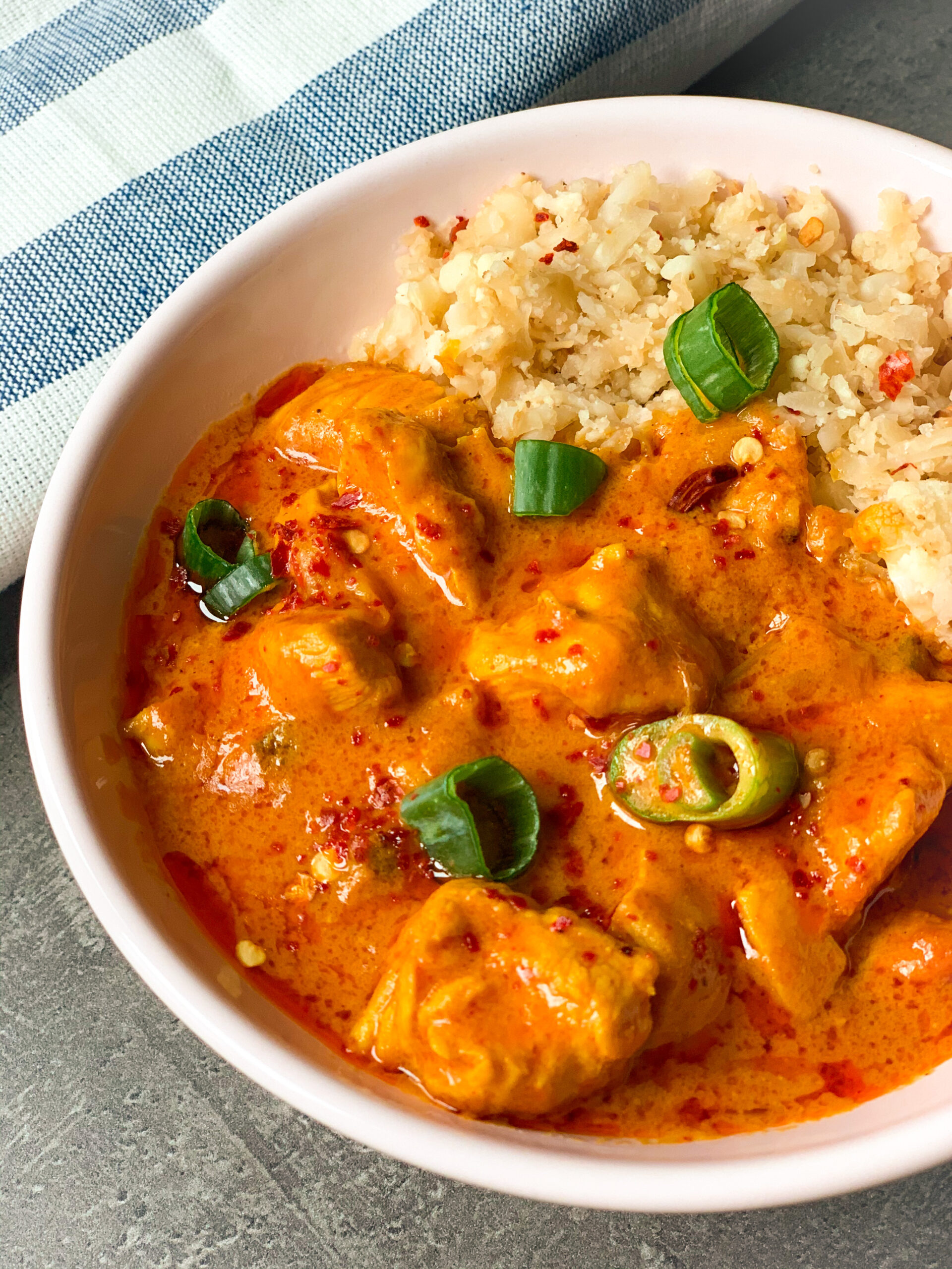 Picture of keto chicken curry