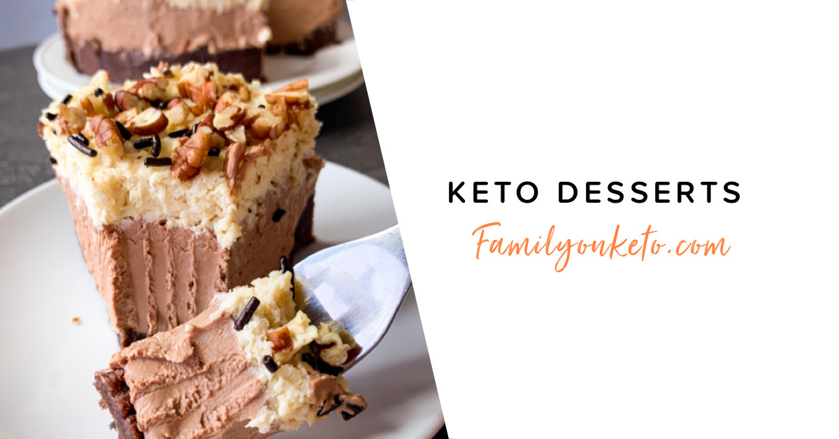 Picture of totally guilt free keto desserts you can choose when using macros calculator for food