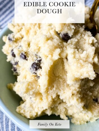 Picture of keto edible cookie dough