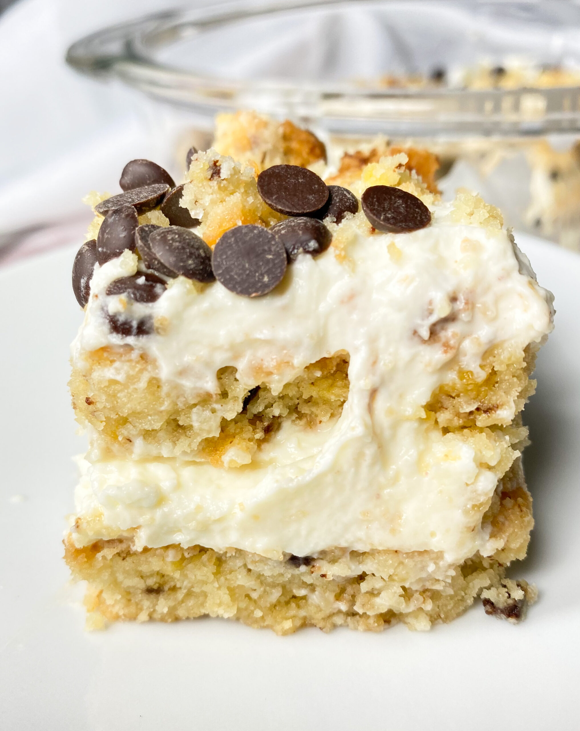 Picture of keto cookies and cream lasagna