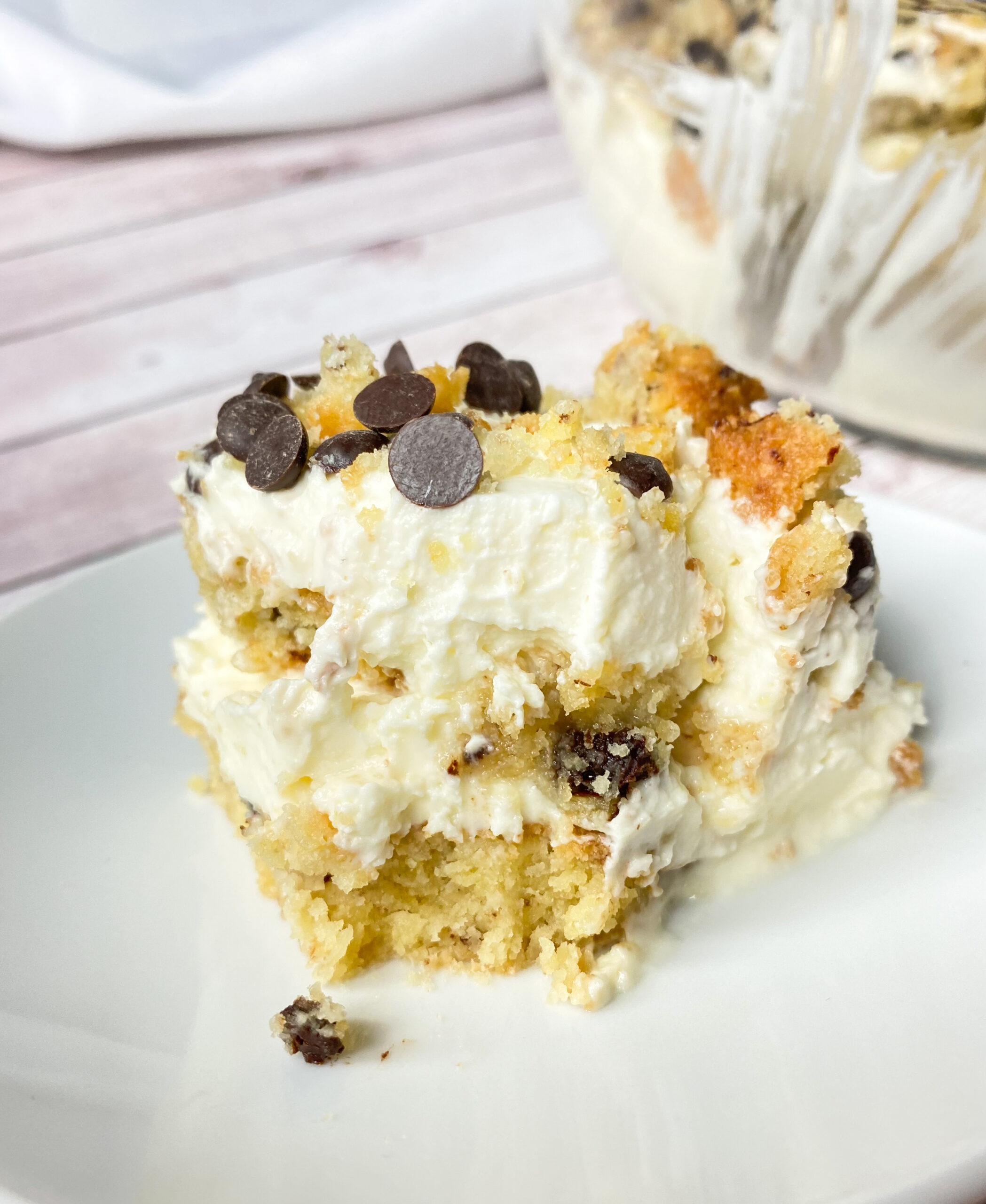 Picture of keto cookie and cream lasagna
