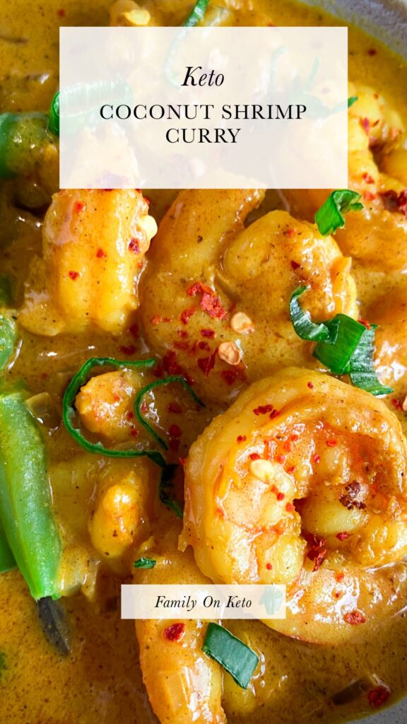 Picture of keto coconut shrimp curry