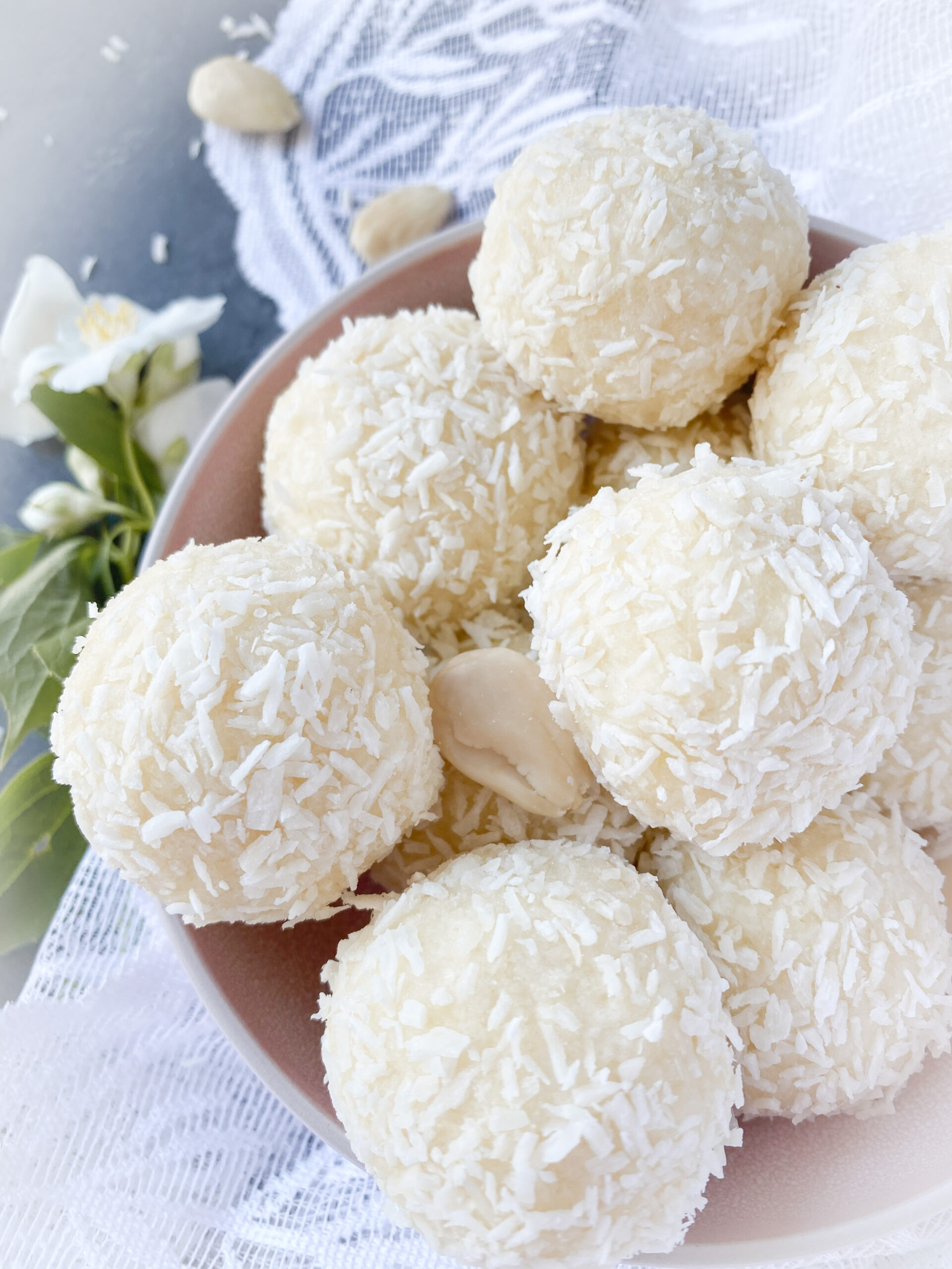 Picture of keto coconut fat bombs