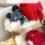 Keto berries and cream cake bars
