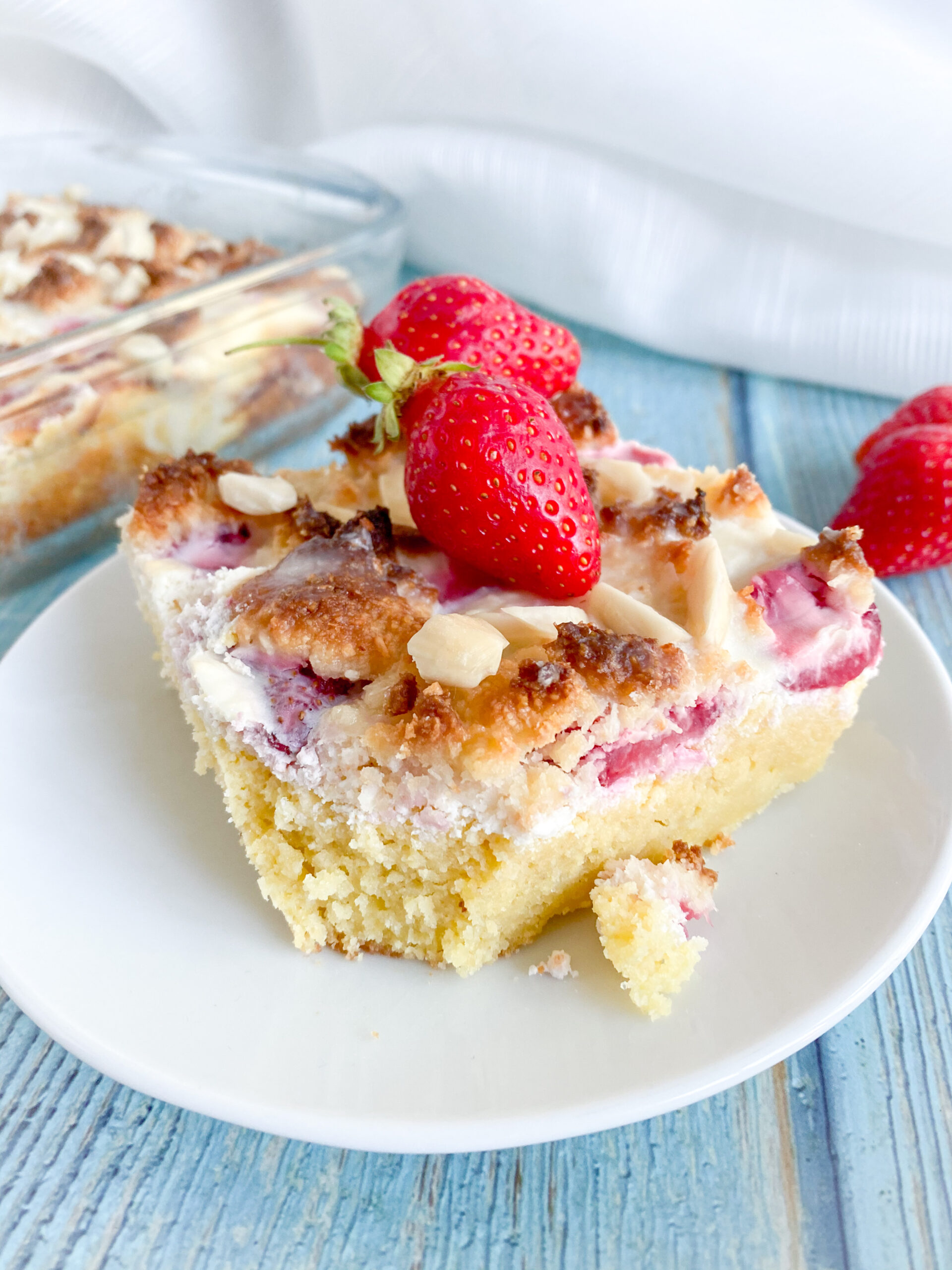 Picture of low carb cream cheese coffee cake
